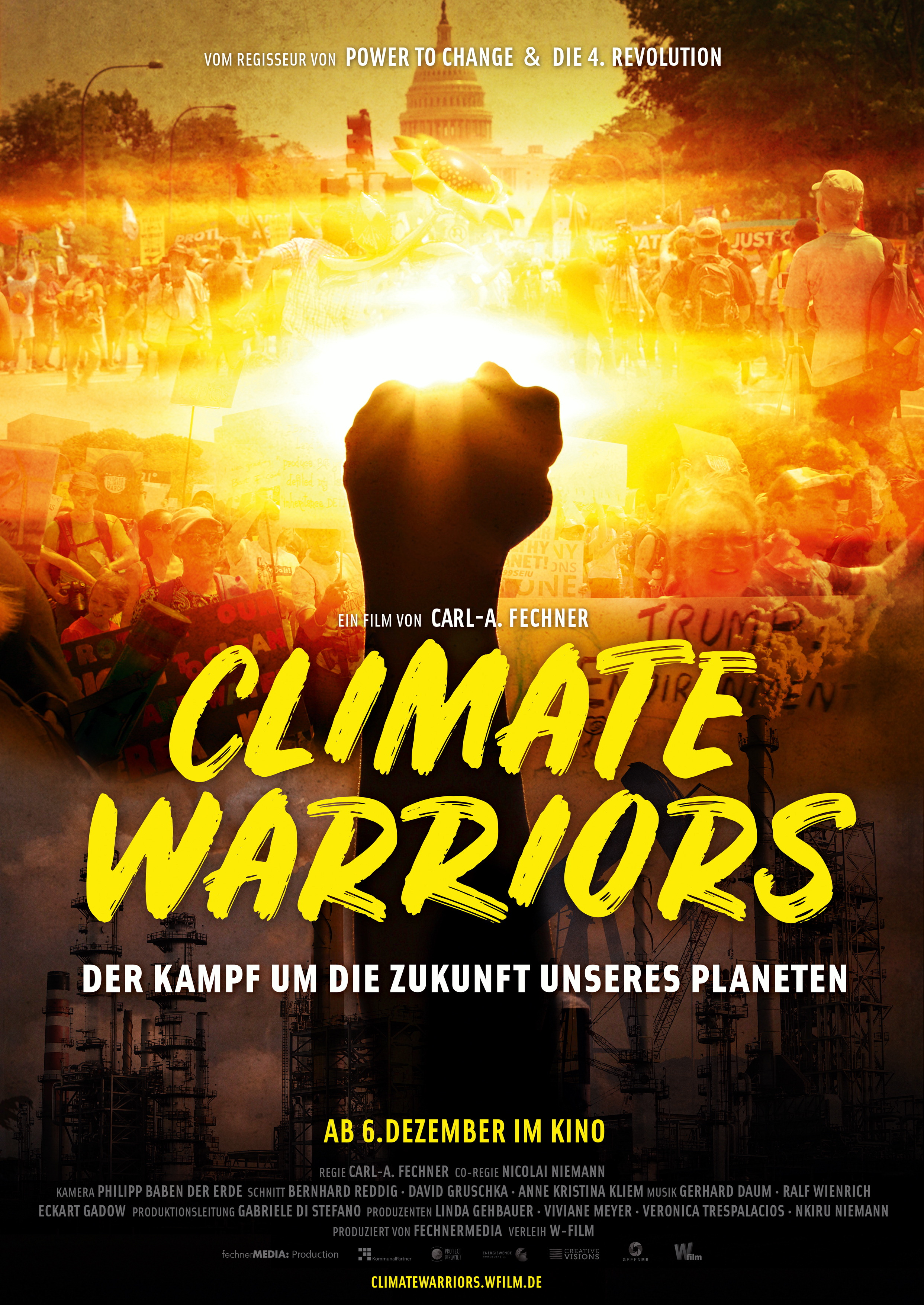 Plakat des Films: Climate Warriors
