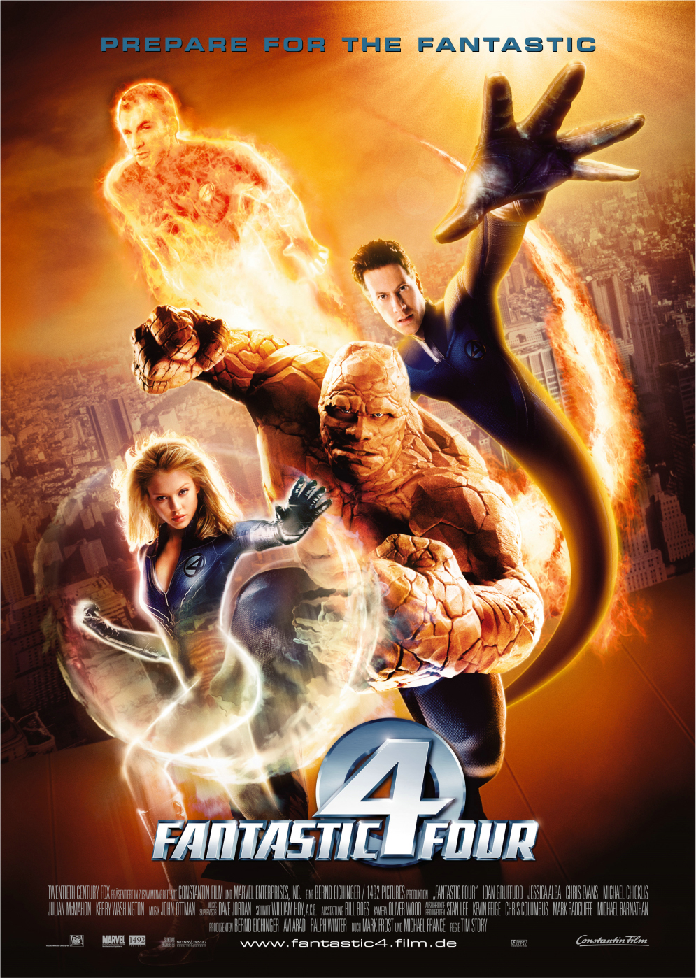 Plakat des Films: Fantastic Four