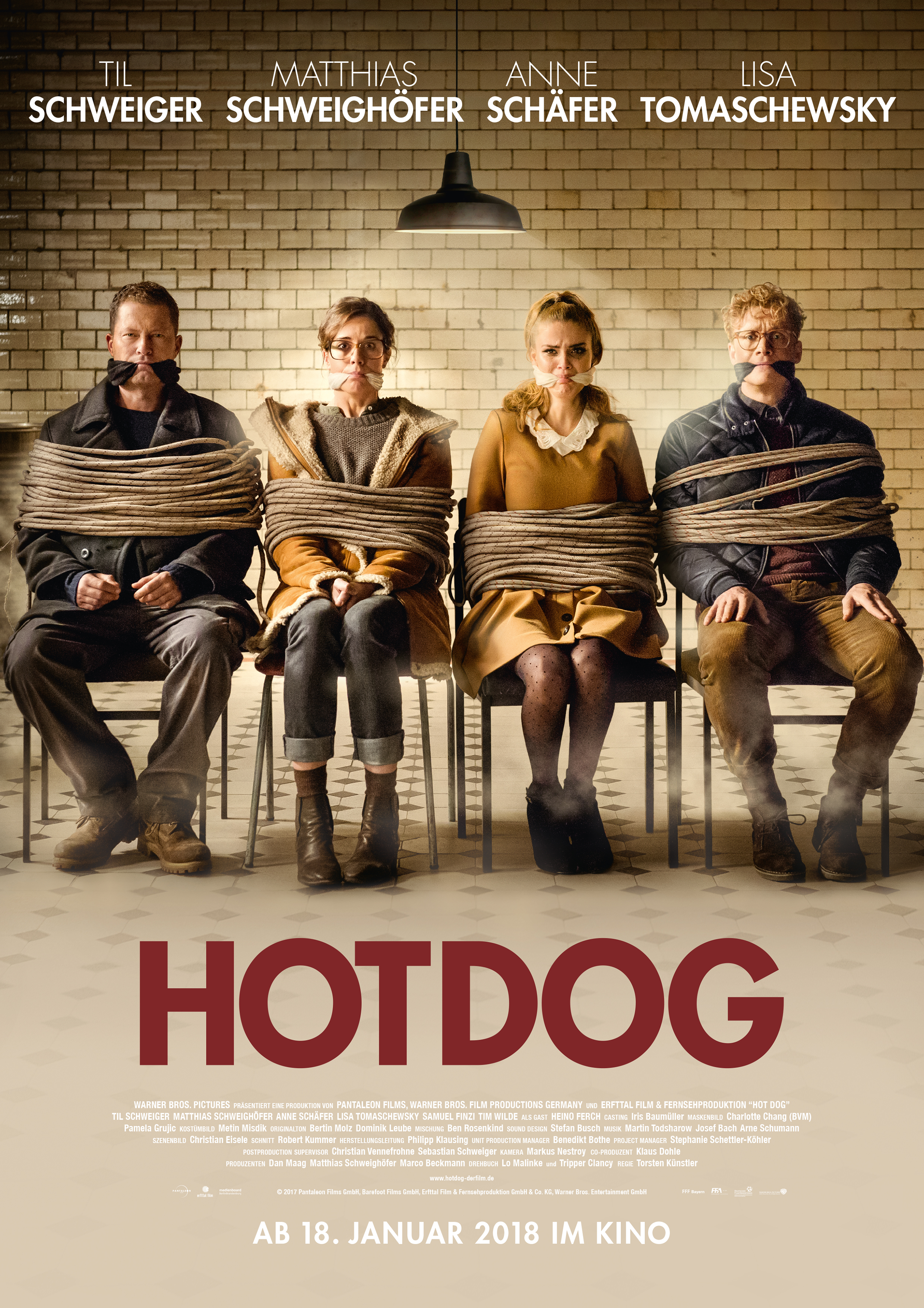 Plakat des Films: Hot Dog