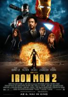 Plakat des Films: Iron Man 2