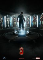 Plakat des Films: Iron Man 3
