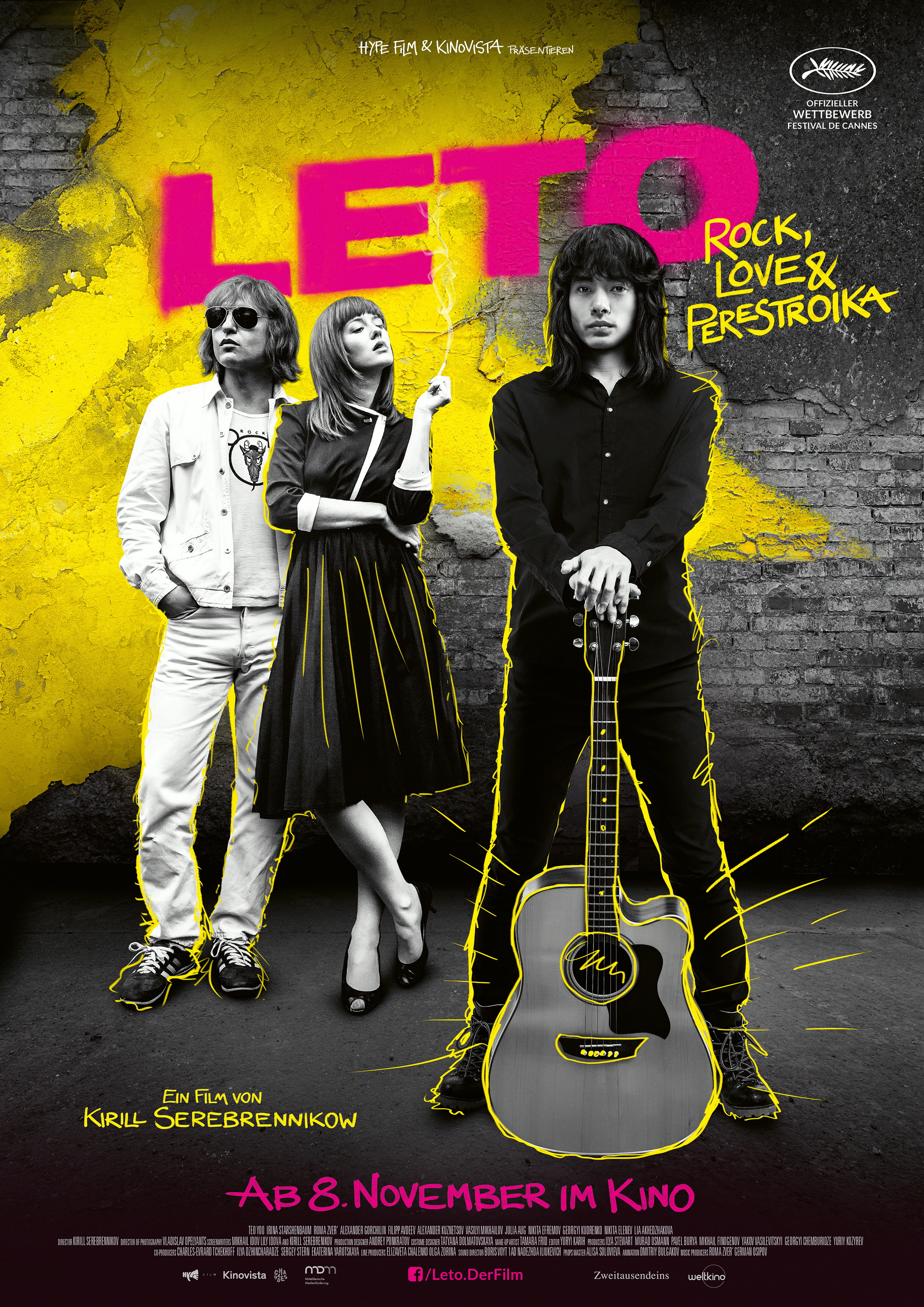 Plakat des Films: Leto - Rock, Love & Perestroika