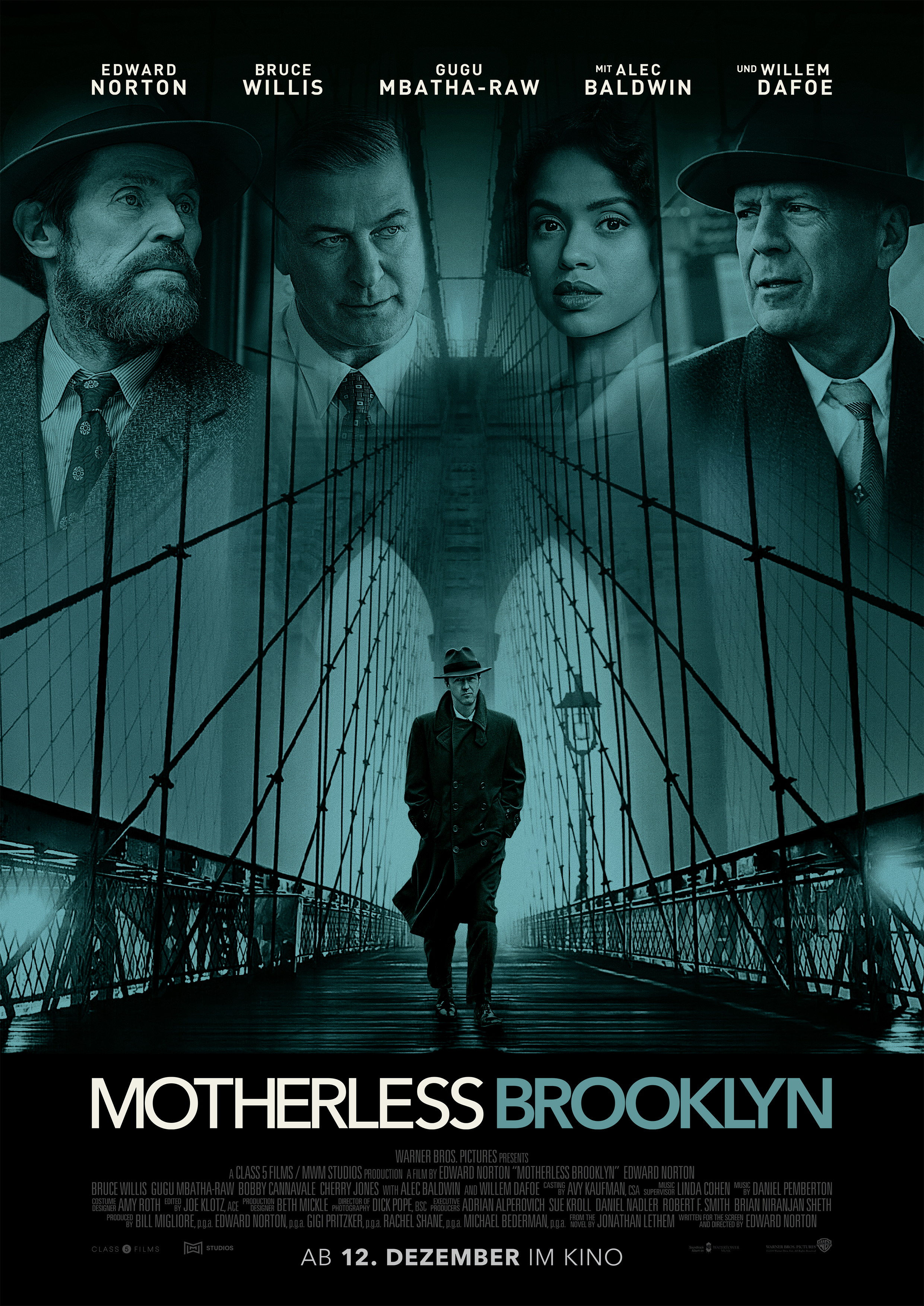 Plakat des Films: Motherless Brooklyn