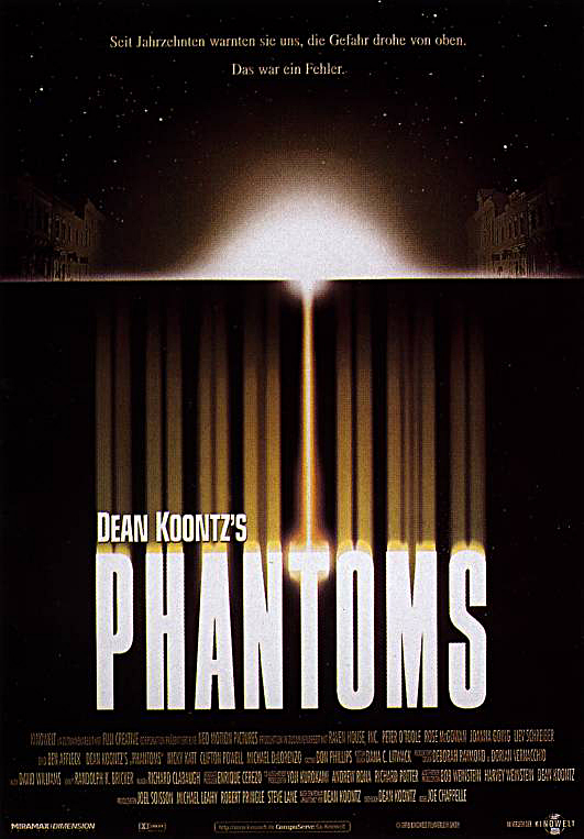 Plakat des Films: Phantoms