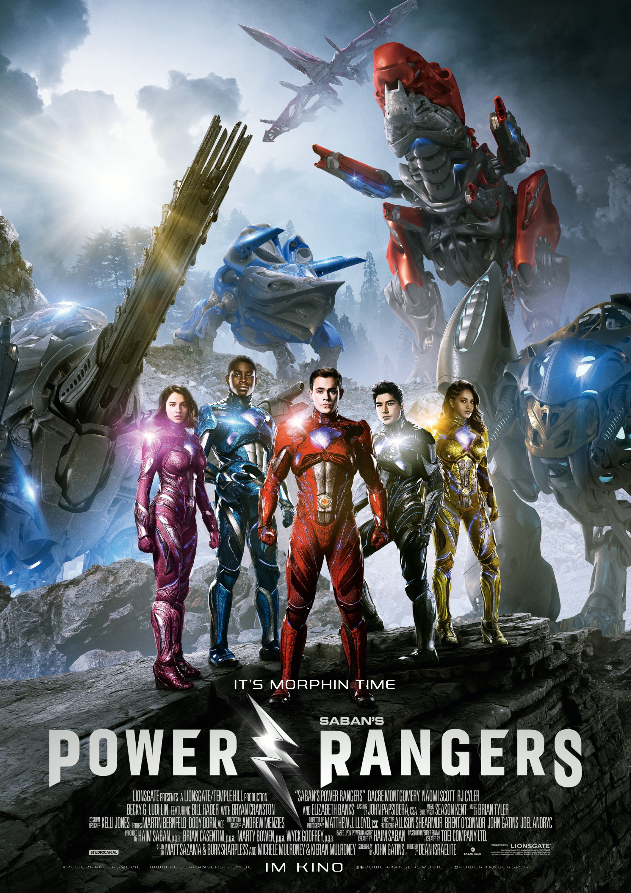 Plakat des Films: Power Rangers