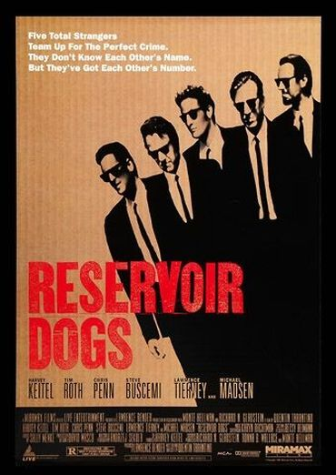 Plakat des Films: Reservoir Dogs