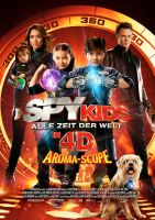 Plakat des Films: Spy Kids 4