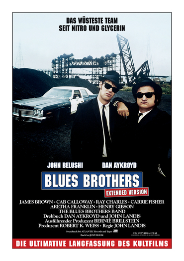 Plakat des Films: The Blues Brothers Extended Version