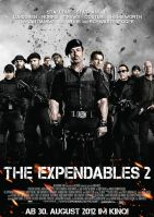 Plakat des Films: The Expendables 2