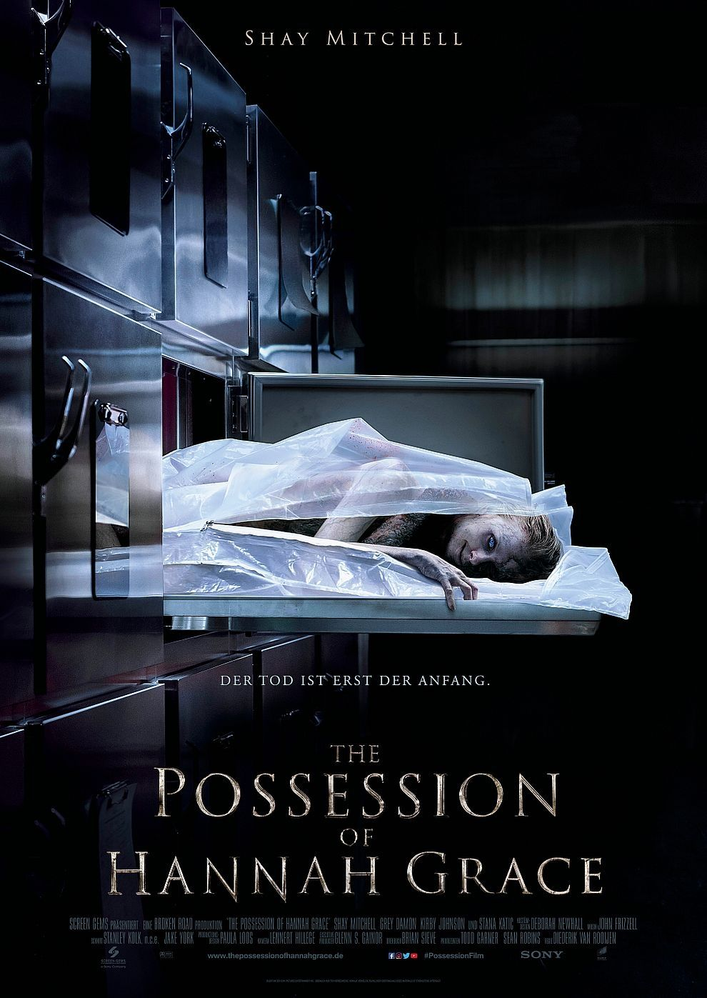Plakat des Films: The Possession of Hannah Grace