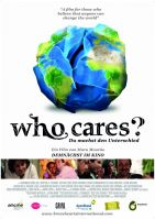 Plakat des Films: Who cares? - Du machst den Unterschied