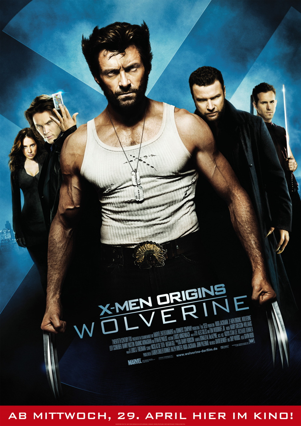Plakat des Films: X-Men Origins: Wolverine
