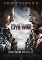Plakat des Films: The First Avenger: Civil War