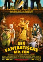Plakat des Films: Der fantastische Mr. Fox