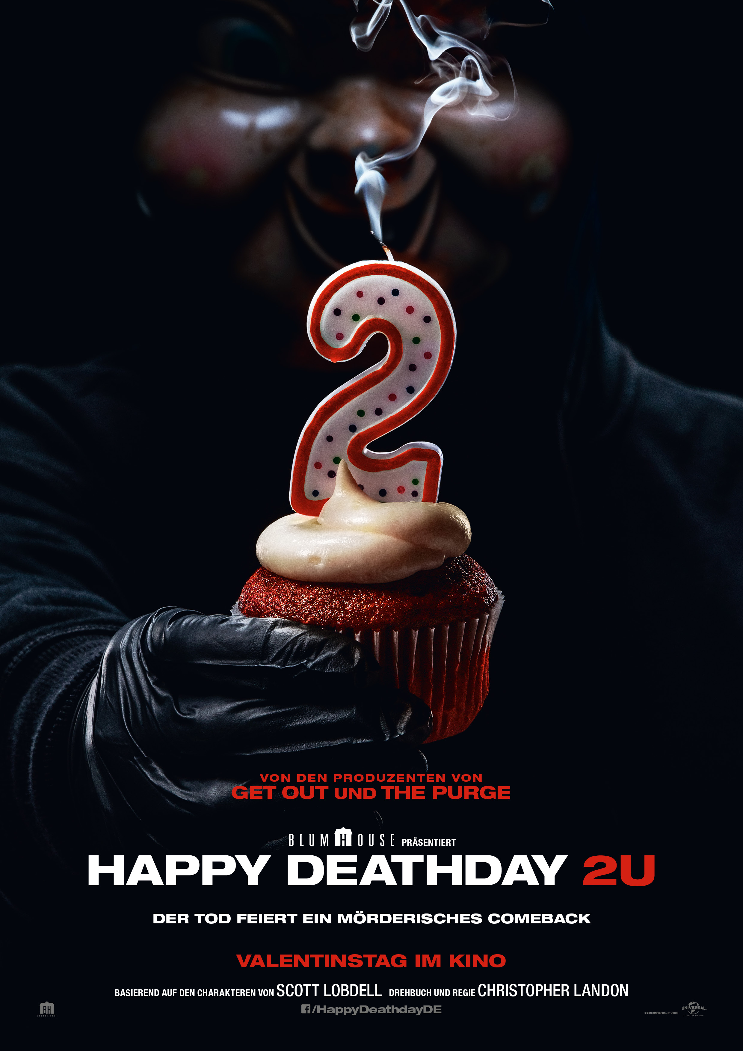 Plakat des Films: Happy Deathday 2U