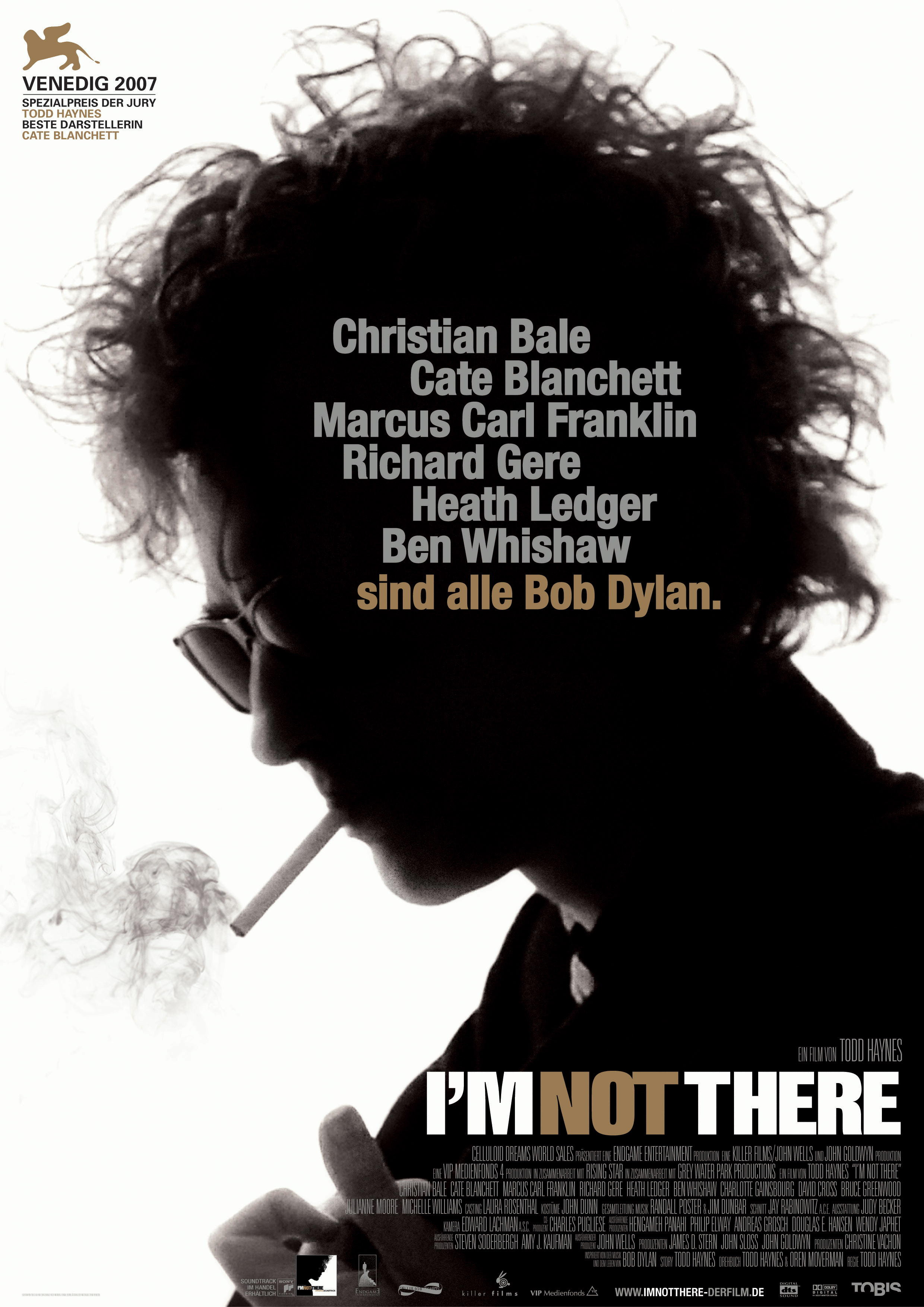 Plakat des Films: I'm Not There