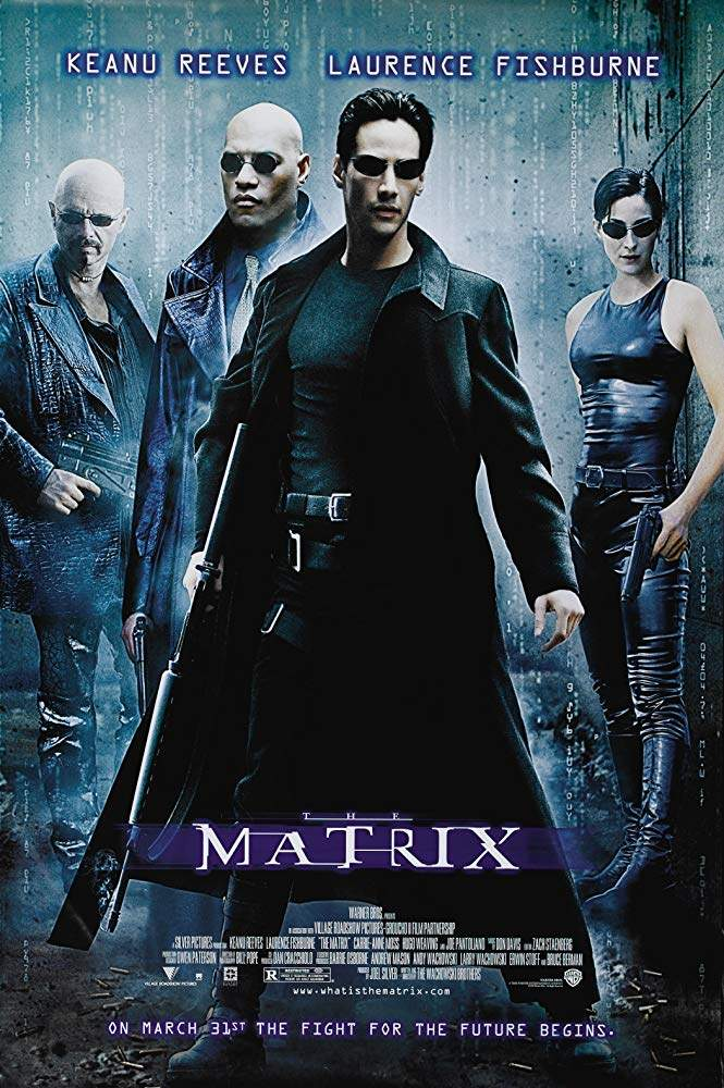 Plakat des Films: Matrix