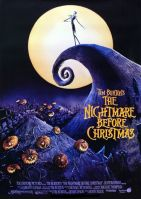 Plakat des Films: Nightmare Before Christmas