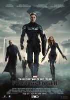 Plakat des Films: The Return of the First Avenger
