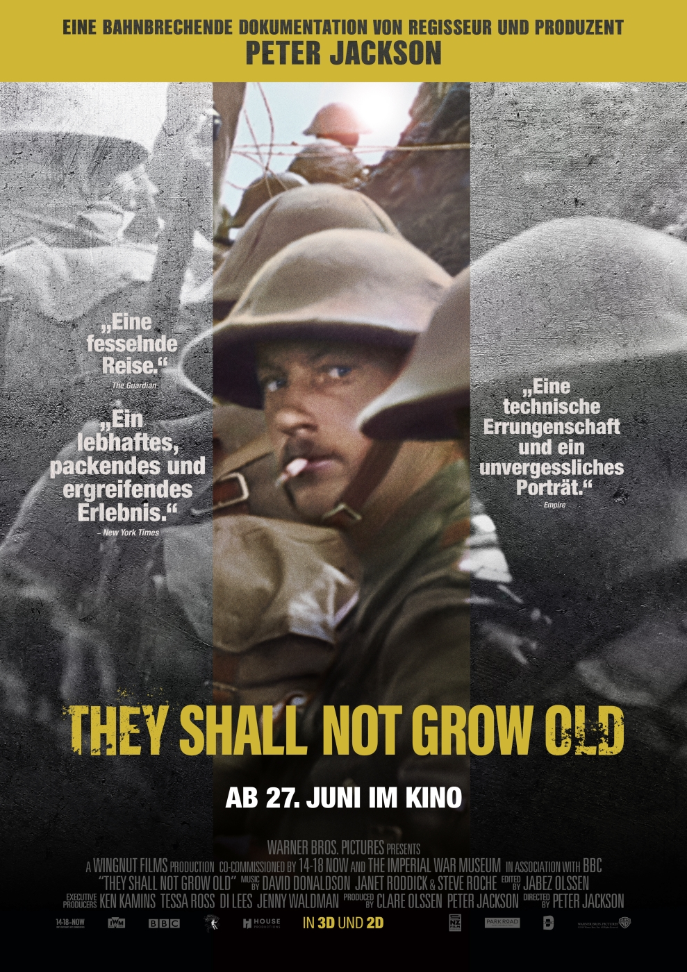Plakat des Films: They Shall Not Grow Old