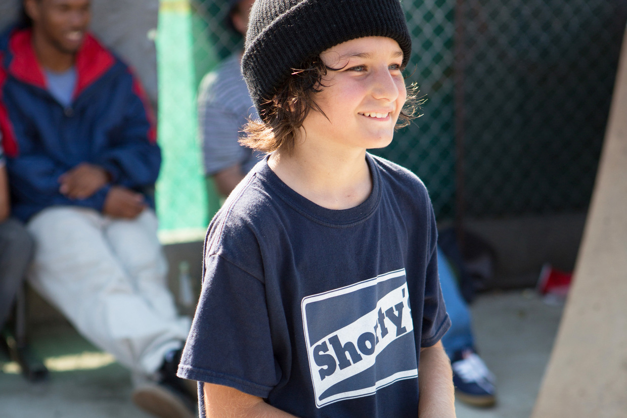 """mid90s"": Sunny Suljic als Stevie"