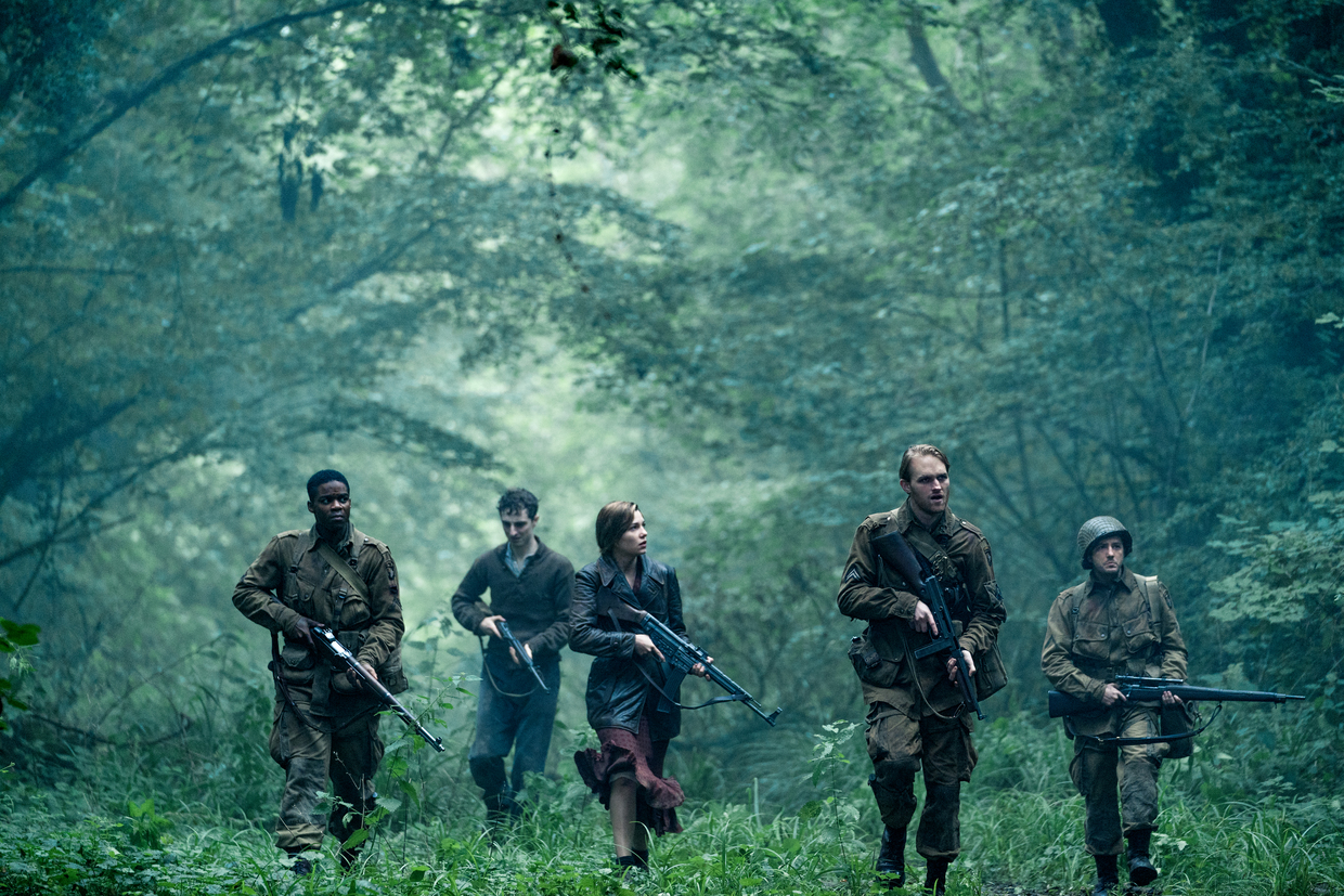 """Operation: Overlord"": Jovan Adepo als Boyce, Wyatt Russell als Ford"