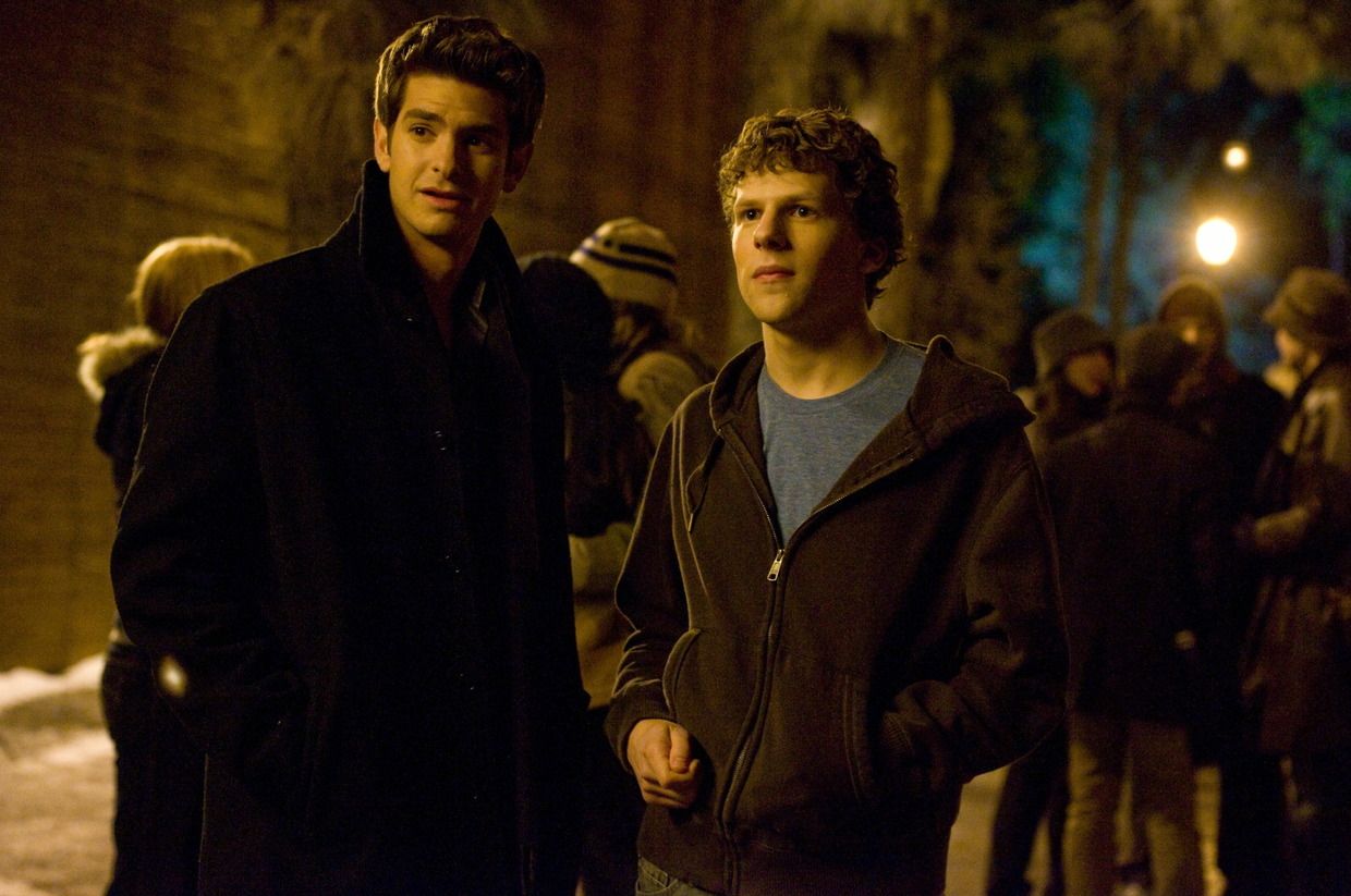 """The Social Network"": Andrew Garfield als Eduardo Saverin"