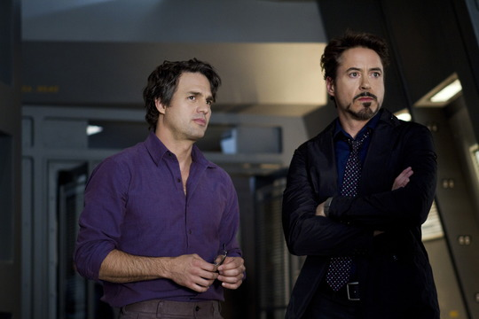Szenenbild aus Marvel's The Avengers  mit Mark Ruffalo