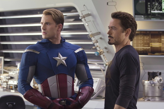 Szenenbild aus Marvel's The Avengers  mit Robert Downey Jr.