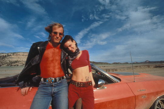 Szenenbild aus Natural born Killers mit Woody Harrelson