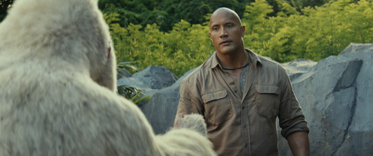 Szenenbild aus Rampage - Big Meets Bigger mit Dwayne Johnson