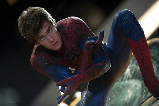 Szenenbild aus The Amazing Spider-Man mit Andrew Garfield