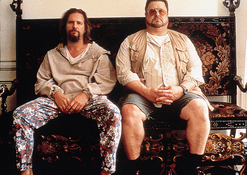 Szenenbild aus The Big Lebowski mit Jeff Bridges